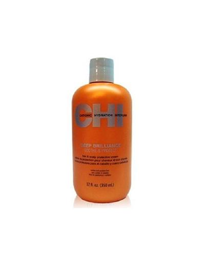 Увлажняющий крем для волос и кожи головы Глубокий блеск 350 мл (Chi, Deep Brilliance) средство для лечения волос и кожи головы