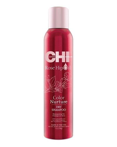 Купить со скидкой Chi Сухой шампунь масло дикой розы для поддержания цвета 198 г (Chi, Rose Hip Oil)