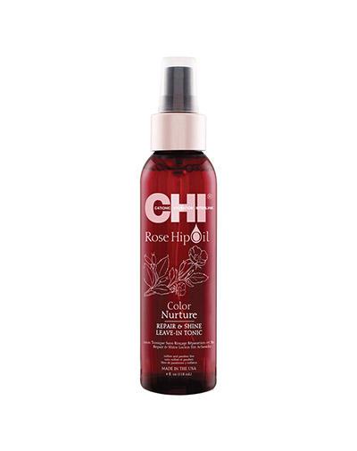 Chi Тоник с маслом дикой розы питание цвета 118 мл (Chi, Rose Hip Oil)