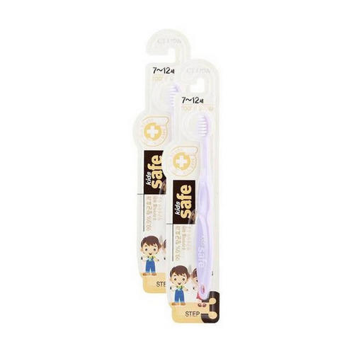 Купить Cj Lion Детская зубная щетка Kids safe toothbrush , шаг 3, 7-12 лет, 1 шт (Cj Lion, Уход за зубами Cj Lion), Южная Корея