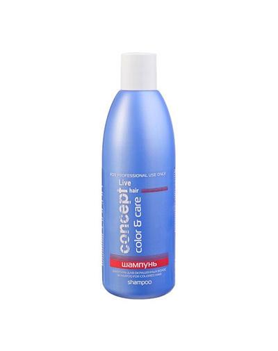 Concept Шампунь для окрашенных волос Shampoo for colored hair 300 мл (Concept, Live Hair)