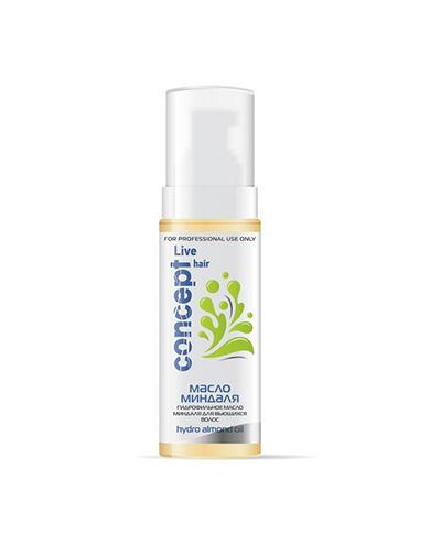 Гидрофильное масло миндаля для вьющихся волос Hydro Almond Oil, 145 мл (Concept, Live Hair) японское гидрофильное масло для умывания