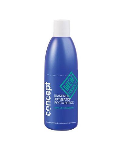 Купить Concept Шампунь-активатор роста волос, 300 мл (Concept, Men), Россия
