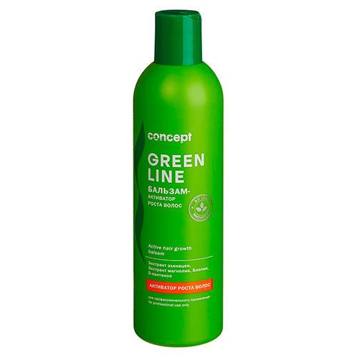 Купить Concept Бальзам-активатор роста волос Active hair growth balsam, 300 мл (Concept, Green Line), Россия