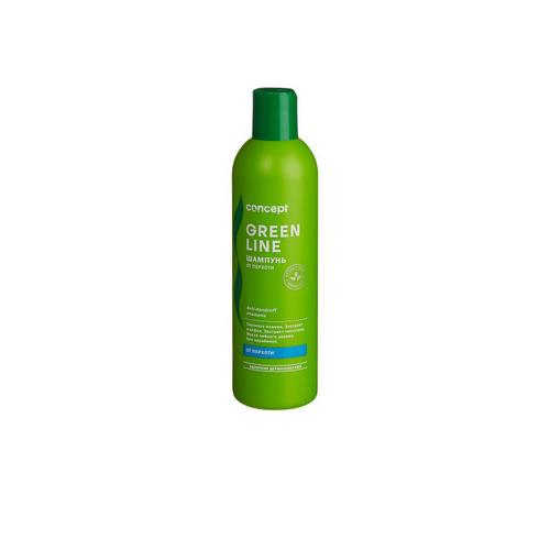 Фото - Concept Шампунь от перхоти Anti-dandruff shampoo, 300 мл (Concept, Green Line) concept восстанавливающее масло двойное действие 10 10 мл concept green line