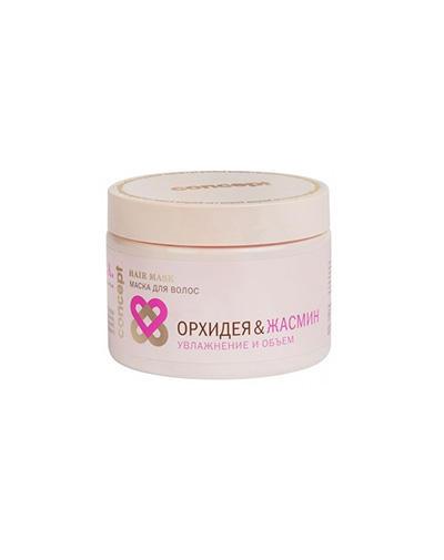 Concept Маска для волос Орхидея&Жасмин Увлажнение и объем Hydration&Volume hair mask, 350 мл (Concept, Spa)