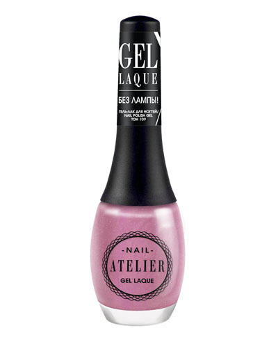 Nail Atelier Гельлак для ногтей, тон 109 (Vivienne sabo, Ногти) vivienne sabo gel laque nail atelier гель лак для ногтей тон 119 12 мл