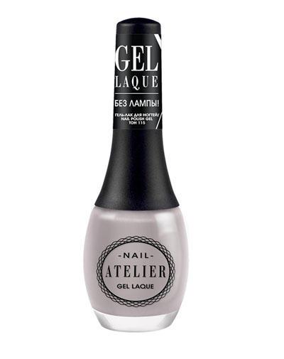 Nail Atelier Гельлак для ногтей, тон 115 (Vivienne sabo, Ногти) vivienne sabo gel laque nail atelier гель лак для ногтей тон 119 12 мл