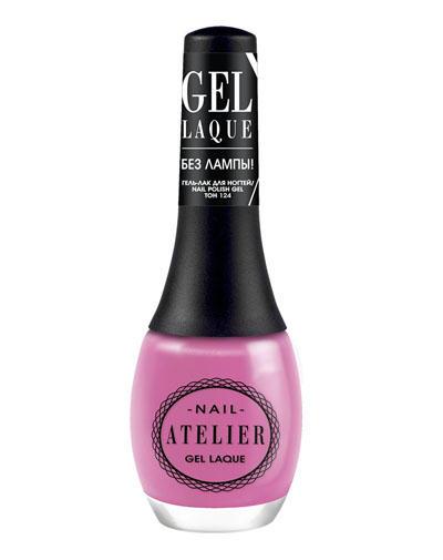 Nail Atelier Гельлак для ногтей, тон 124 (Vivienne sabo, Ногти) vivienne sabo gel laque nail atelier гель лак для ногтей тон 119 12 мл