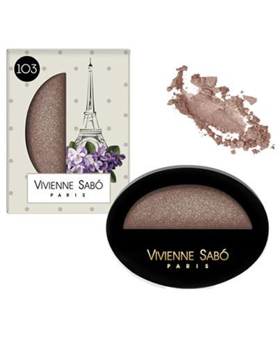 Jeter de leclat Тени для век мерцающие, тон 103 (Vivienne sabo, Глаза) vivienne sabo round latex makeup sponges set cпонж круглый для макияжа латексный 2 шт