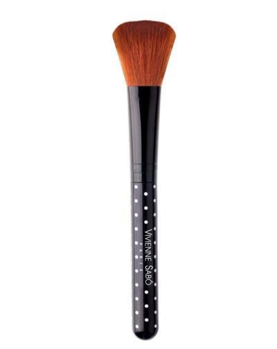 Кисть косметическая универсальная 1 шт (Vivienne sabo, Аксессуары) vivienne sabo round latex makeup sponges set cпонж круглый для макияжа латексный 2 шт