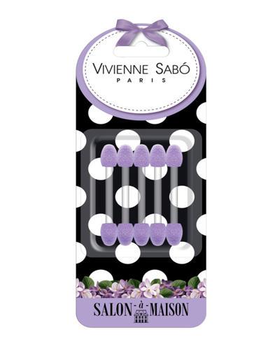 Набор аппликаторов для теней 5 шт (Vivienne sabo, Аксессуары) vivienne sabo набор велюровых спонжей для макияжа 2 шт