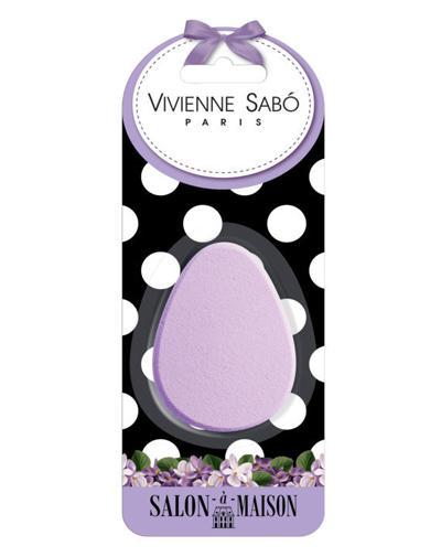 Овальный латексный спонж для макияжа 1 шт (Vivienne sabo, Аксессуары) vivienne sabo round latex makeup sponges set cпонж круглый для макияжа латексный 2 шт