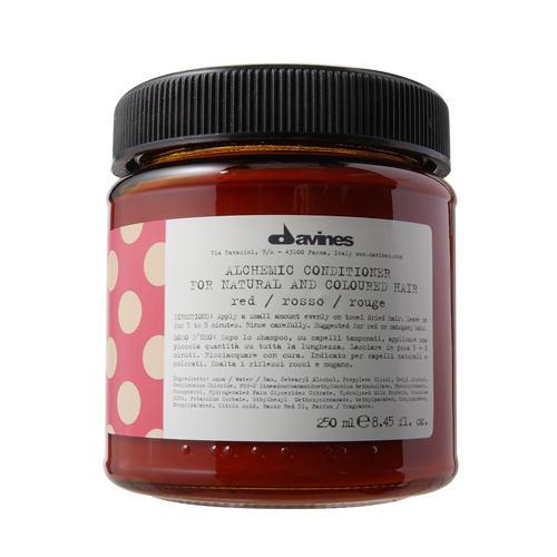 Davines Алхимик Кондиционер для натуральных и окрашенных волос, красный 250 мл (Davines, Алхимик)