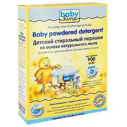 Baby line Детский стиральный порошок 900 гр (Безопасная детская бытовая химия)