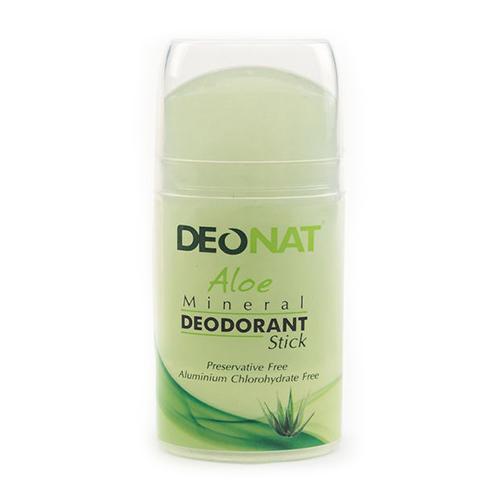 Дезодорант кристалл с травами и соком Алоэ овальный, 100 г (DeoNat, Дезодоранты DeoNat)