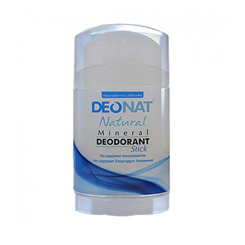 DeoNat Дезодорант кристалл плоский, 100 г (DeoNat, Дезодоранты DeoNat)