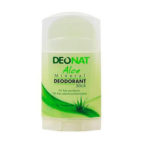 Дезодорант кристалл с травами и соком Алоэ плоский, 100 г (DeoNat, Дезодоранты DeoNat)