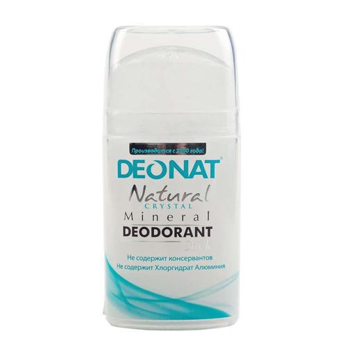 Дезодорант кристалл овальный цельный, 100 г (DeoNat, Дезодоранты DeoNat)