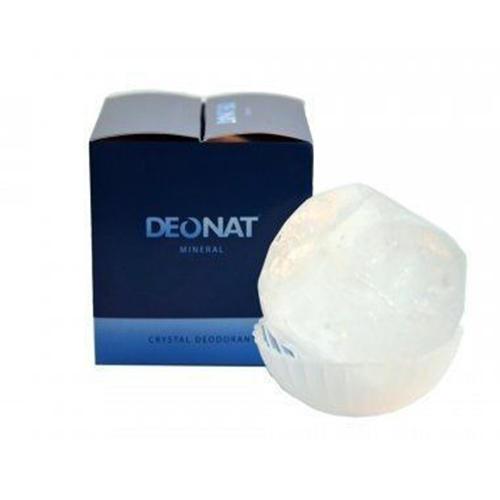 Дезодорант кристалл природный в подарочной коробочке, 155 г (DeoNat, Дезодоранты DeoNat)