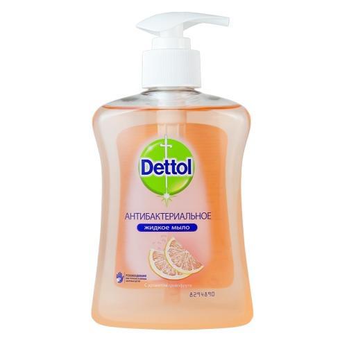 Антибактериальное жидкое мыло для рук с экстрактом Грейпфрута, 250 мл (Dettol, Уход за руками) недорого