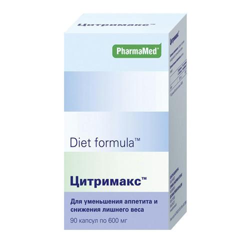 Diet formula Диет формула Цитримакс капсулы №90 (Diet formula, Контроль аппетита)
