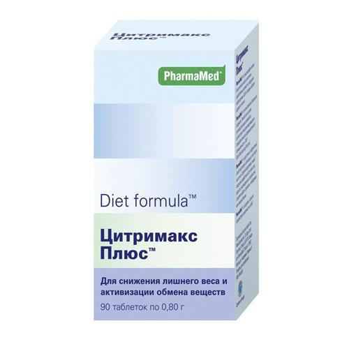 Diet formula Цитримакс плюс таблетки №90 (Diet formula, Контроль аппетита)