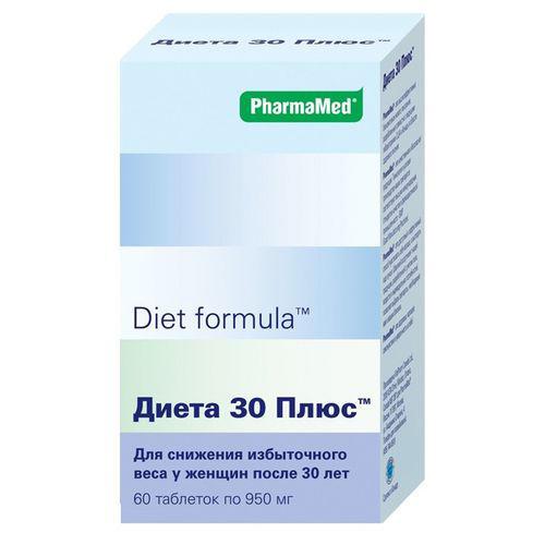 Diet formula Диета 30 плюс таблетки  №60 (Diet formula, Контроль аппетита)