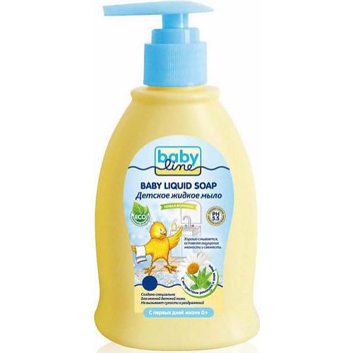 Детское жидкое мыло с дозатором 500мл (Baby line, Для купания)