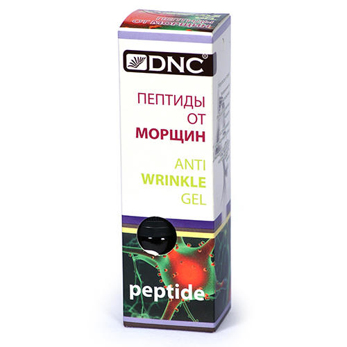 Пептиды от морщин, 10 мл (DNC Kosmetika, Лицо) набор dnc пептиды от морщин 10 мл подарок маска для лица 15 мл