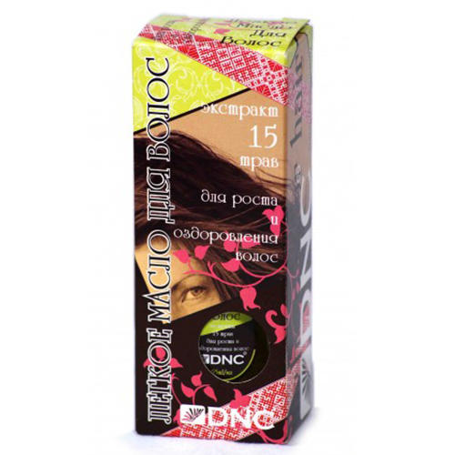 Купить DNC Kosmetika Масло для волос Экстракт 15 трав , 55 мл (DNC Kosmetika, Волосы), Латвия