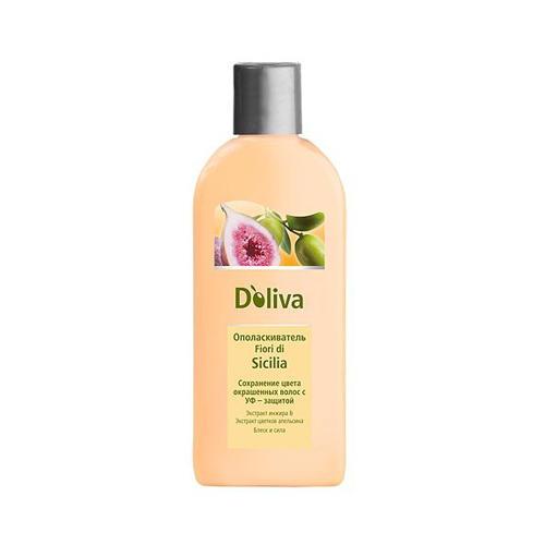 Doliva Ополаскиватель для сохранения цвета окрашенных волос, 200 мл (Уход за волосами)