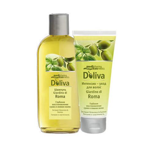 Doliva Шампунь для восстановления сухих и ломких волос, 200 мл (Уход за волосами)