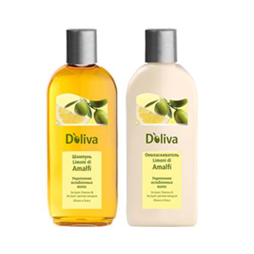 Шампунь для укрепления ослабленных волос, 200 мл (Уход за волосами) (D`oliva)