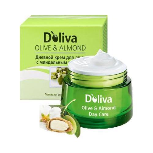 Крем дневной с миндальным маслом, 50 мл (Olive&Almond)