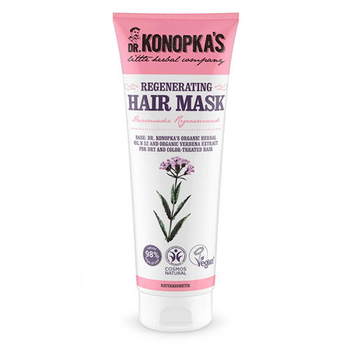 Маска для волос Восстанавливающая, 200 мл (Dr. Konopkas, Для волос) восстанавливающая маска для волос с морингой 150 мл sante уход за волосами