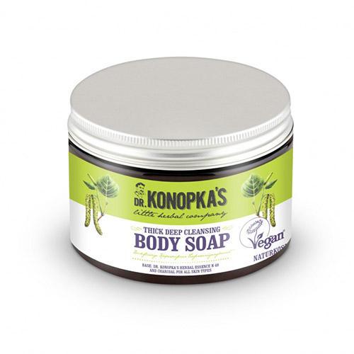 Мыло густое для тела Очищающее, 500 мл (Dr. Konopkas, Для тела)