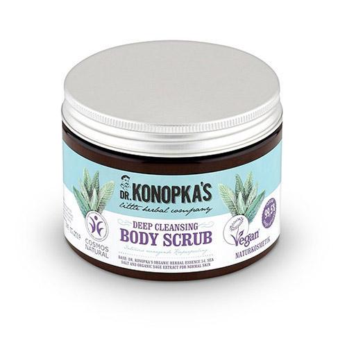 Скраб для тела Глубоко очищающий, 500 мл (Dr. Konopkas, Для тела) натуральный скраб