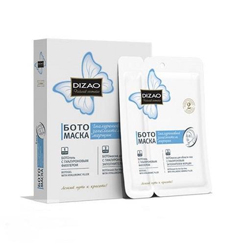 Dizao Бото-маска для глаз гиалуроновый заполнитель морщин №6 (Бото-маски)