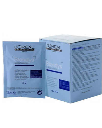 Loreal Professionnel Блондис Порошок-усилитель для полного осветления 12х17 мг (Loreal Professionnel, Обесцвечивание)