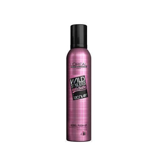 Пудровый мусс Rebel Push Up 250 мл (Loreal Professionnel, Techi.art) пудровый мусс rebel push up 250 мл loreal professionnel techi art