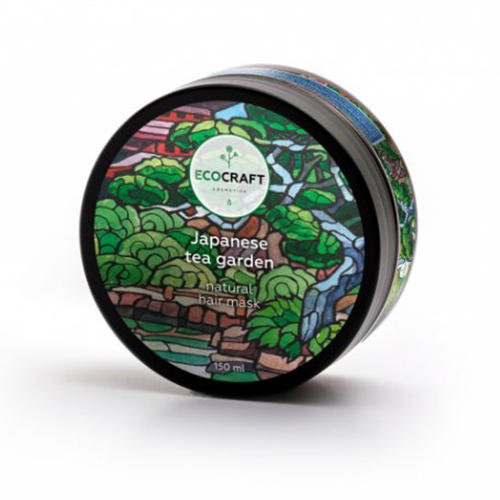 лучшая цена Маска для увлажнения волос Японский чайный сад, 150 мл (EcoCraft, Для волос)