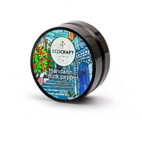 Купить EcoCraft Крем-масло для рук Мандарин и розовый перец , 60 мл (EcoCraft, Для рук), Россия