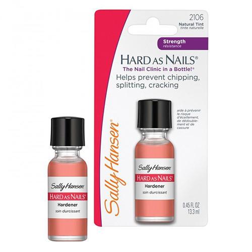 Sally Hansen Средство для укрепления ногтей hard as nails natural tint, 13,3 мл (Sally Hansen, Уход за ногтями) олимпийка helly hansen helly hansen he012ewelrb8