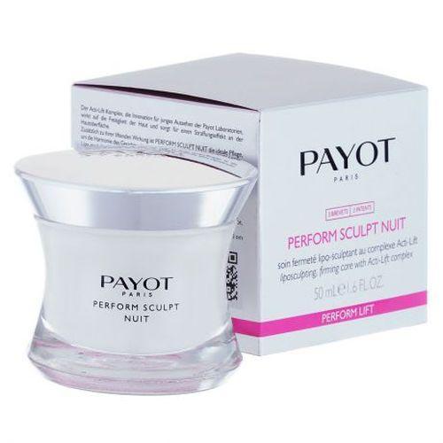 Ночное средство для моделирования овала лица и повышения упругости кожи 50 мл (Payot, Perform Lift) антивозрастной уход payot perform lift intense объем 50 мл