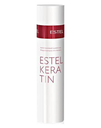 Кератиновый шампунь для волос, 250 мл (Estel, Thermokeratin) шампуни thermokeratin купить