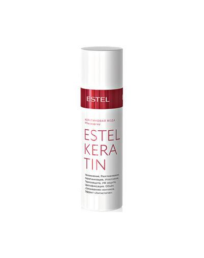 Кератиновая вода для волос Keratin 100 мл (Estel, Keratin) кератиновая вода для волос keratin 100 мл estel keratin