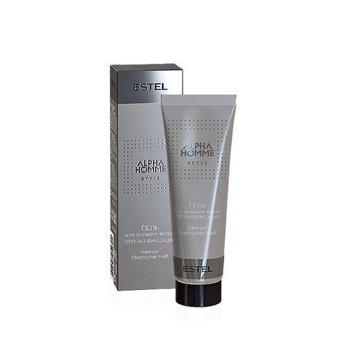 Estel Гель для укладки волос легкая фиксация, Alpha homme 50 мл (Estel, Alpha Homme) гель крем для лица alpha homme genwood hydro 50мл