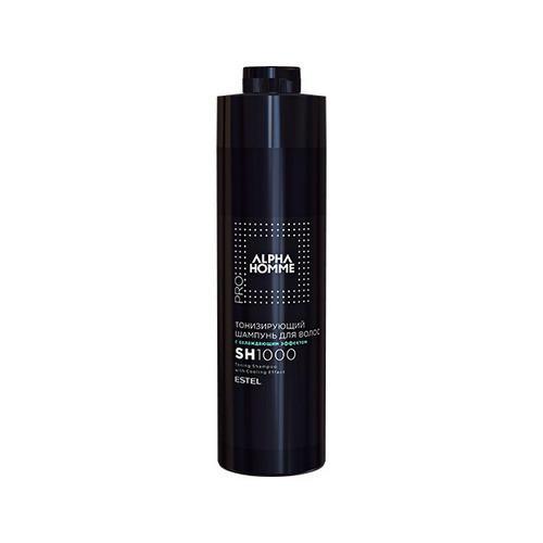 Купить Estel Тонизирующий шампунь для волос с охлаждающим эффектом PRO, Alpha homme 1000 мл (Estel, Alpha Homme), Россия