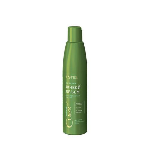 Шампунь придание объема для сухих и поврежденных волос, 300 мл (Estel, Curex Volume) insight увлажняющий шампунь для сухих волос 400 мл